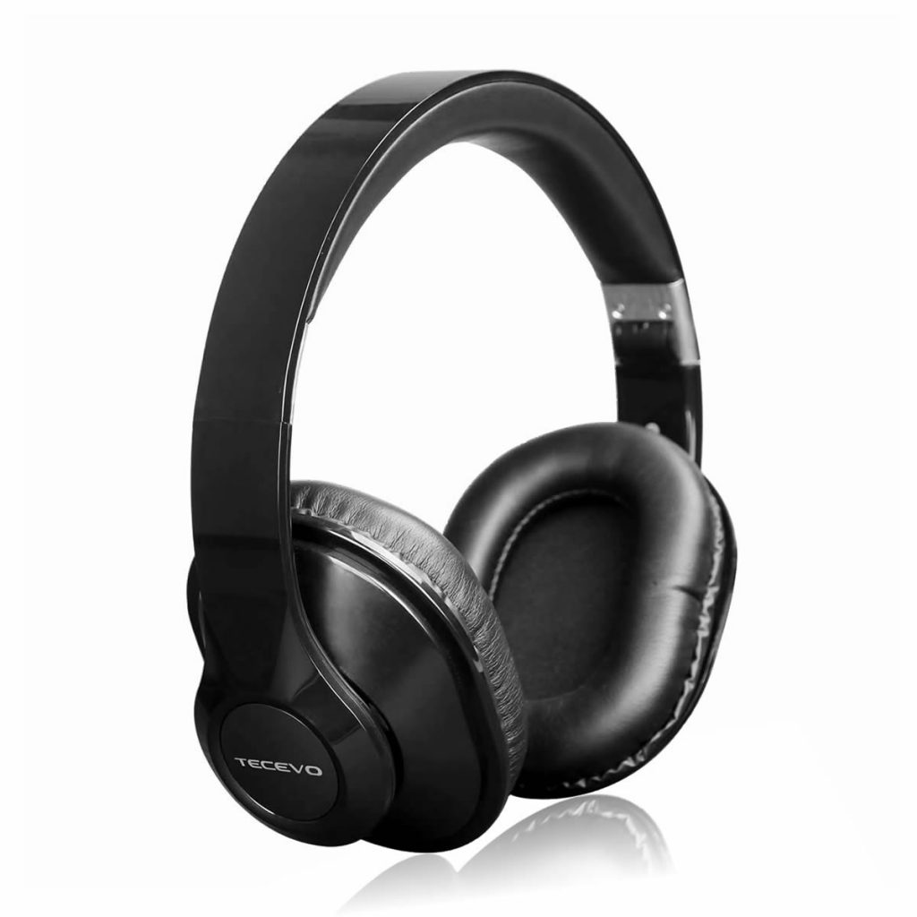 f10 over earcup wireless bluetooth headset tecevo. Black Bedroom Furniture Sets. Home Design Ideas