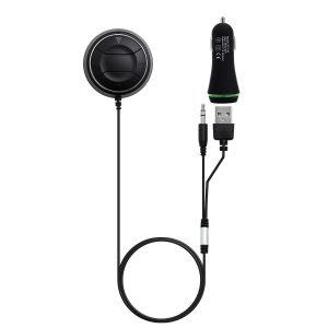 tecevo bluetooth handsfree kit with music receiver for car stereo